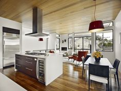 Modern Kitchen & Dining Room Design : Great Small Kitchen With Dining Area Dining Room Design, Dining Room Furniture, Dining Area, Small Dining, Dining Tables, Modern Kitchen Design, Interior Design Kitchen, Kitchen Designs, Interior Paint