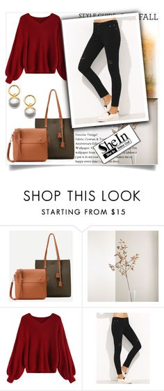 """""""SheIn 1"""" by melisa-hasic ❤ liked on Polyvore featuring Crate and Barrel"""