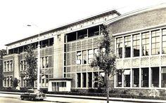 https://flic.kr/p/f2YT7o | Groningen Kraneweg Huishoudschool ca. 1956