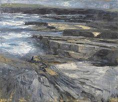 Donald Teskey Coastline Narrative V oil on canvas 132 x 152 cm