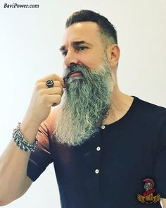 Viking Beard Tips and Styles (Part 1 of The Vikings are famous not only for their outstanding war Long Beard Styles, Hair And Beard Styles, Hair Styles, Viking Beard Styles, Moustache, Beard No Mustache, Grey Beards, Long Beards, Beard And Mustache Styles