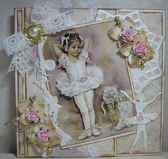 Voorbeeldkaart - MD Vintage. - Categorie: Scrapkaarten - Hobbyjournaal uw hobby website