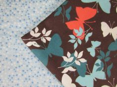 Baby Blanket Handmade Colorful Butterfly Print Blanket Baby Shower Gift Stroller Blanket