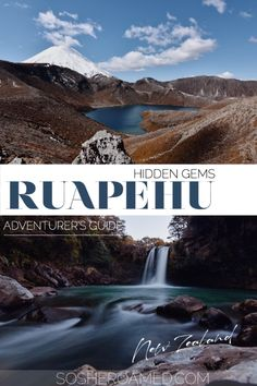 Looking for an adventure guide to Ruapehu's sneaky hidden gems? Keep reading to find serene waterfalls, secluded back country hikes and so much more! Pillars Of Hercules, Desert Road, Over The River, Backpacker, Solo Travel, Waterfalls, New Zealand, Travel Photography, Road Trip