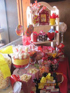 Canyd Buffet Minnie Mouse Mesa de dulces mimi  disney