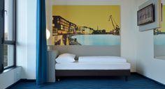 Barrierefreies Zimmer im B&B Hotel Münster-Hafen