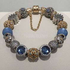 These new blue tones are gorgeous! We styled them with some gold to complement every jewelry style!