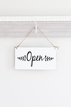 Open and Closed Business Sign Open Closed Sign Store Signs Now Open Sign, Open Close Sign, Closed Signs, Open Signs, Small Business Quotes, Business Signs, Logo Online Shop, Salon Signs, Instagram Highlight Icons