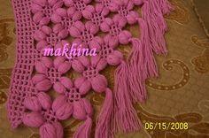 all thing crochet: Tig isi fistikli sal yapimi