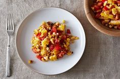 Summer Corn and Tomato Salad Recip  This, I LOVE  Incredibly simple and the absolute best!!!