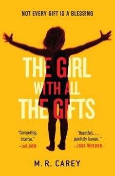 The Girl With All the Gifts. Is little Melanie less than human? More than human? A team of scientists keeps her and other children strapped to wheelchairs in a heavily guarded military base as the truth is slowly revealed in this chilling postapocalyptic tale.