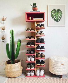 Shoe Rack Plan/Shoe Tower Plan/shoe shelf plan/shoe organizer plan/wood shoe rack plan/rustic shelf plan/boot rack plan/pdf pattern/wood pdf – The World Wood Shoe Rack, Diy Shoe Rack, Shoe Shelf Diy, Shoe Racks, Shoe Rack Ikea, Diy Shoe Organizer, Shoe Rack Tower, Diy Shoe Storage, Storage Ideas