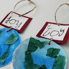 Joy to the World Ornaments are lovely Christmas ornaments that also make great Sunday school crafts to illustrate the meaning of the famous Christmas carol. Christmas crafts for kids are a phenomenal way to decorate the house. Preschool Christmas, Christmas Activities, Christmas Crafts For Kids, Homemade Christmas, Preschool Crafts, Kids Christmas, Holiday Crafts, Christmas Ornaments, Holiday Fun