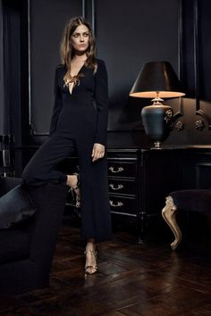 Jumpsuits are great for date night or even to a more formal affair. A black jumpsuit can instantly make you look more sophisticated.La Mania Fall-Winter 2015/2016www.lamania.euPhoto: Agata Pospieszyńska