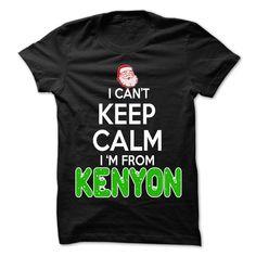 Keep Calm Kenyon... Christmas Time - 99 Cool City Shirt !