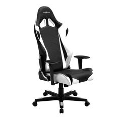 "DXRacer OH/RW106 Gaming Chair 3D Straight Arms/Conventional Tilt Mechanism/Aluminium Base/PU cover/2"" Caster The Racing Series is DXRacer's answer to those seeking affordable luxury. These chairs are"
