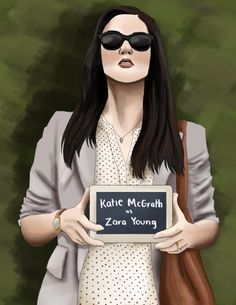 Katie McGrath as Zara Young from Jurassic World