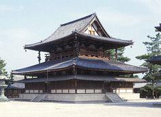 金堂 | 聖徳宗総本山 法隆寺 Horyuji Temple, Building Concept, Wide World, Central Asia, Deities, Canopy, Maine, Japan, Celestial