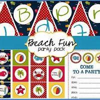 Kit ¡Vamos a la Playa! para Imprimir Gratis.