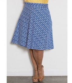 Slip on a little grace with this playfully feminine retro style skirt! This lovely swing boasts a banded high waist, bac...Price - $65.00-H986xoz8