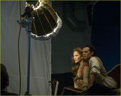 Jennifer Lopez is Princess Jasmine, Mark Anthony as Aladin, disney-dream-ads-annie-leibovitz