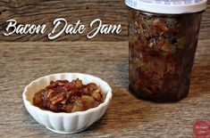 Bacon Date Jam | Mrs