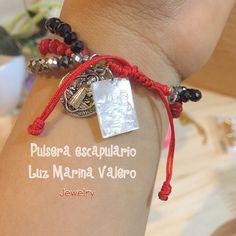 Pulsera escapulario by Luz Marina Valero