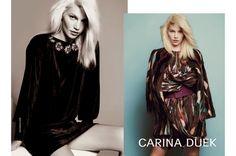 Hilary Blonde: Carina Duek ,  colección de moda Otoño Invierno 20...