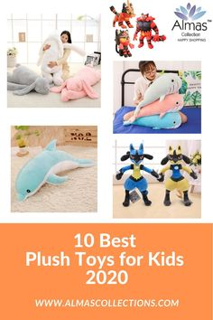 In this article, you will find the top 10 best stuffedf toys of Why are plush toys so important for your child's development read on and find out why NOW. - Famous Last Words Toddler Gifts, Toddler Toys, Gifts For Kids, Kids Toys, Baby Gifts, Pet Toys, Baby Toys, Whale Plush, Mum Birthday Gift