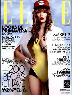 Elle Magazine Cover [Portugal] (April 2013)