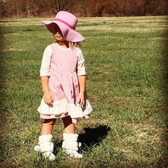 ON SALE NOW! Austin dress-- http://ift.tt/1QRtJpP #slowfashion #prairieoutfitters #childmagazine #smalltown #