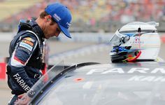 Kasey Kahne Photos Photos - Kasey Kahne, driver of the #5 Farmers Insurance Chevrolet, stands on the grid during qualifying for the Monster Energy NASCAR Cup Series FireKeepers Casino 400 at Michigan International Speedway on June 16, 2017 in Brooklyn, Michigan. - Michigan International Speedway - Day 1