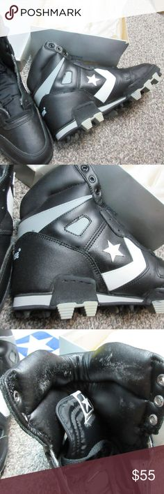 6c88774c0bc3 VINTAGE Starforce 19597 CONVERSE cleats NOS *RARE* These are 1980s football/field  cleats
