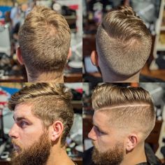 High Fade - This is basically how my hair is now. I love it.