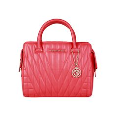 Versace Jeans – E1VPBBY2_75620  Handbag of synthetic leather  has double handles, zip fastening, lined interior, shoulder strap and a dust bag. Inside it, there are 1 zip pocket and 2 inside pockets. It is of size 29*20*15 cm.  https://fashiondose24.com