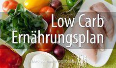 Low Carb Ernährungsplan – Mit diesen Low Carb Rezepten nimmst Du garantiert ab…