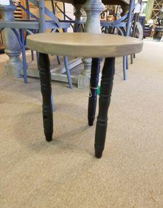 Delightful 3 Leg Black And Gray Stool U2013 Belle Patri Home Furnishings U0026 Accessories  U201cMake Your