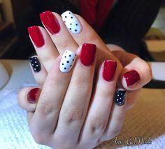Unhas Decoradas Vermelhas: Unhas com poás Pink Nail Art, Pretty Nail Art, Stylish Nails, Perfect Nails, Nail Manicure, Nails Inspiration, Pink Nails, Beauty Nails, Cute Nails