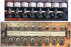 Pascal's Calculator (1670). A mechanical calculator that could add and subtract, built by the philosopher Blaise Pascal in the 1670s. The system of cranks and gears is comparable in complexity to the Antikythera mechanism from 1000 years earlier.