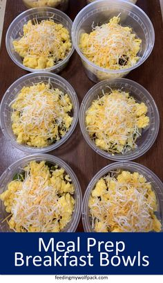 Meal prep breakfast bowls make for quick grab and go breakfast. By spending a li. Meal prep breakfast bowls make for quick grab and go breakfast. By spending a little extra time meal prepping these breakfast bowls you'll be set for the week! Lunch Meal Prep, Meal Prep Bowls, Easy Meal Prep, Easy Meals, Weekly Meal Prep, Grab And Go Breakfast, Breakfast Bowls, Breakfast Casserole, Meal Prep Breakfast