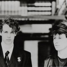 neil tennant and chris lowe of pet shop boys