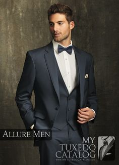 Slate Blue 'Bartlett' Tuxedo from http://www.mytuxedocatalog.com/catalog/rental-tuxedos-and-suits/c1003-slate-blue-allure-tuxedo/