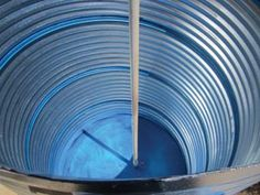Build a cistern out of corrugated road culvert by Joe Mooney
