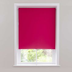 Hot Pink Blackout Cordless Roller Blind | Dunelm