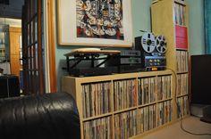 Vintage audio vinyl record hi fi stereo
