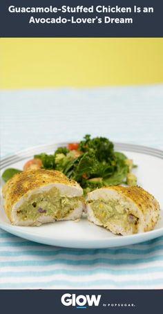 Guacamole-Stuffed Chicken Is an Avocado-Lover's Dream