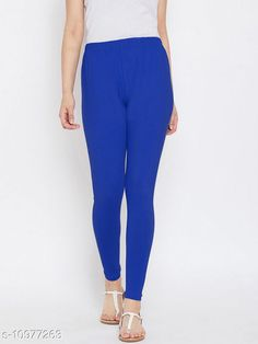 Checkout this latest Leggings Product Name: *Sakhi Shine Ankle Length Cotton Legging* Fabric: Cotton Lycra Pattern: Solid Multipack: 1 Sizes:  28, 30, 32, 34, 36, 38, 40, 42, 44 (Waist Size: 44 in, Length Size: 38 in)  Country of Origin: India Easy Returns Available In Case Of Any Issue   Catalog Rating: ★3.9 (298)  Catalog Name: Fashionable Feminine Women Leggings CatalogID_2033476 C79-SC1035 Code: 382-10977263-936