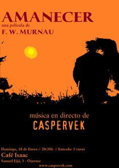 Amanecer (Caspervek Trio) en Café Isaac, Ourense cine cinema audiovisual music musica