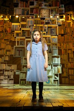 Matilda the musical was a feast for the senses. Bertie Carvel was tremendously good and made me howl with laughter. The Mathilda's deservedly won their Olivier award.