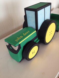 John deere Traktor som Sangskjuler